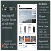 قالب Acumen برای فروشگاه ساز مجنتو