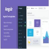 قالب Angulr – قالب پنل مدیریت بر پایه AngularJS
