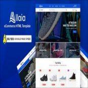 قالب HTML فروشگاهی Allaia