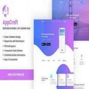 قالب اچ تی ام ال AppCraft