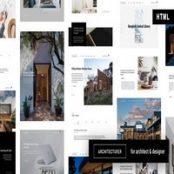 قالب HTML طراحی داخلی Architecturer