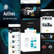 قالب Autlines – Autodealer HTML Template