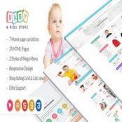 قالب HTML فروشگاهی راستچین Baby & Kids Store