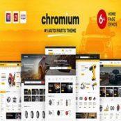 قالب Chromium برای وردپرس