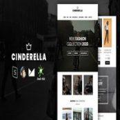 قالب HTML ایمیل Cinderella