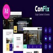 قالب رویداد ConFix برای وردپرس