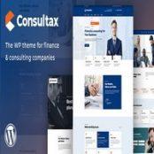 قالب Consultax برای وردپرس