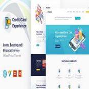 قالب Credit Card Experience برای وردپرس