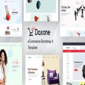 قالب HTML فروشگاهی Daxone