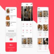 قالب HTML موبایلی رستوران و کافه Dish