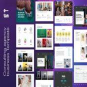 دانلود E—tan – Digital Consulting Agency HTML Template