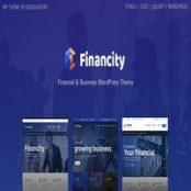 قالب Financity برای وردپرس