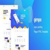 قالب HTML لندینگ Gimpo