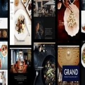 قالب Grand Restaurant برای وردپرس