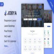 قالب HTML5 دایرکتوری مشاغل Jobya
