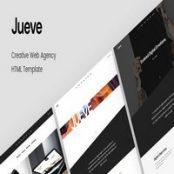 قالب HTML تک صفحه Jueve