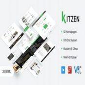 قالب Kitzen – قالب HTML