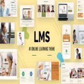قالب LMS راست چین برای وردپرس