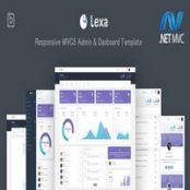 قالب MVC5 داشبورد و مدیریت Lexa