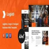 قالب HTML حمل و نقل و باربری Logisti