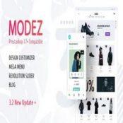 قالب MODEZ برای پرستاشاپ