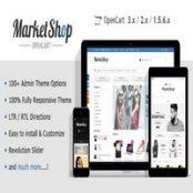 قالب MarketShop برای اپن کارت