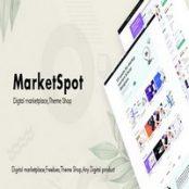 قالب HTML فروش محصولات مجازی Marketspot