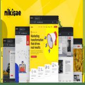 قالب Nikisae – Digital Marketing Agency HTML Template