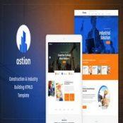 قالب Ostion – قالب HTML
