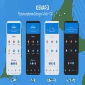 دانلود کیت رابط کاربری موبایل Osvaro
