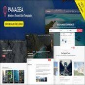 قالب HTML تور و گردشگری Panagea