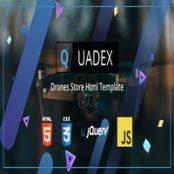 قالب اچ تی ام ال Quadex