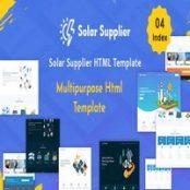 قالب HTML ریسپانسیو Solar Supplier