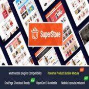 قالب SuperStore راست چین برای اپن کارت