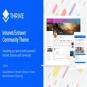 قالب Thrive برای وردپرس