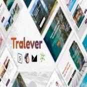 قالب ایمیل و خبرنامه Tralever