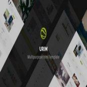 قالب HTML چندمنظوره Urim