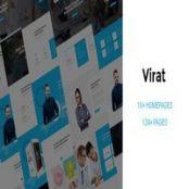 قالب HTML5 چندمنظوره Virat