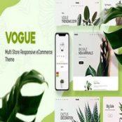 قالب Vogue برای اپن کارت