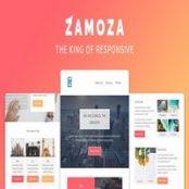 قالب HTML ایمیل Zamoza