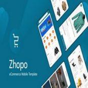 قالب اچ تی ام ال فروشگاهی موبایل Zhopo