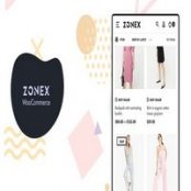 قالب فروشگاهی ووکامرس Zonex