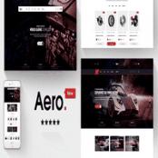 قالب Aero برای مجنتو