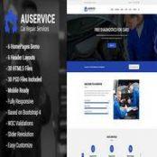قالب Auservice – Auto Mechanic & Auto Repair HTML5 Template