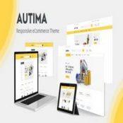 قالب Autima برای اپن کارت