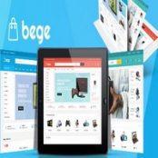 قالب Bege برای فروشگاه ساز مجنتو