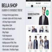 قالب HTML فروشگاهی Bella راستچین شده