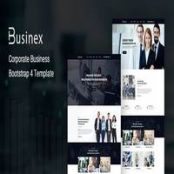 قالب Businex – Corporate Business Bootstrap4 Template