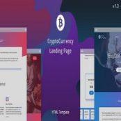 قالب BuyCoin – قالب HTML صفحه فرود کریپتوکارنسی