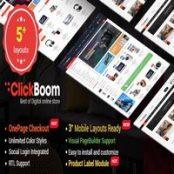 قالب ClickBoom برای اپن کارت